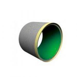 Залізобетонні труби-оболонки футеровані ПВХ. Для будівництва колекторів великих діаметрів.